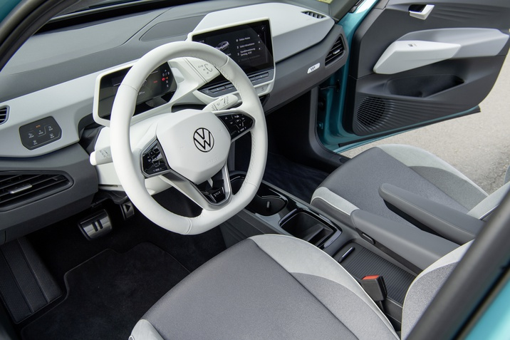 VW ID.3 interior